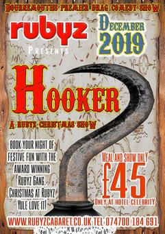 Hooker 2019 Rubyz Christmas Show