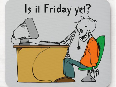 """No more """"Is it Friday Yet?"""""""