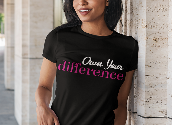Own Your Difference Short Sleeve