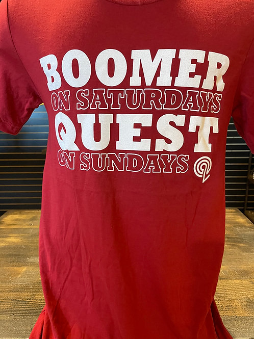"Red ""Boomer"" Quest T-Shirt"