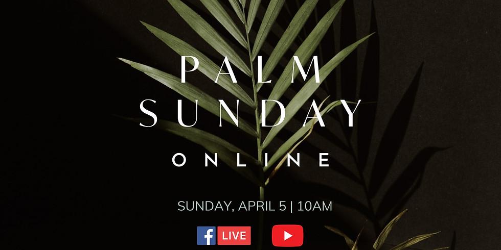 Palm Sunday Live Stream 10:00am