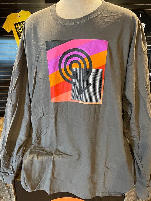 Grey Long Sleeve Quest T-Shirt