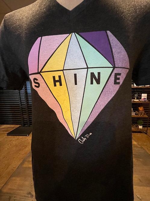 """Black """"Shine"""" Club 31 Quest T-Shirt"""