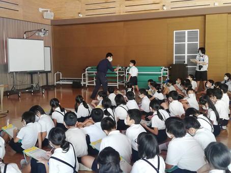 出前講座 川之江小学校