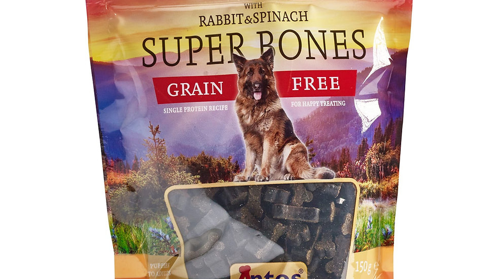Super Bones Rabbit and Spinach (150g)