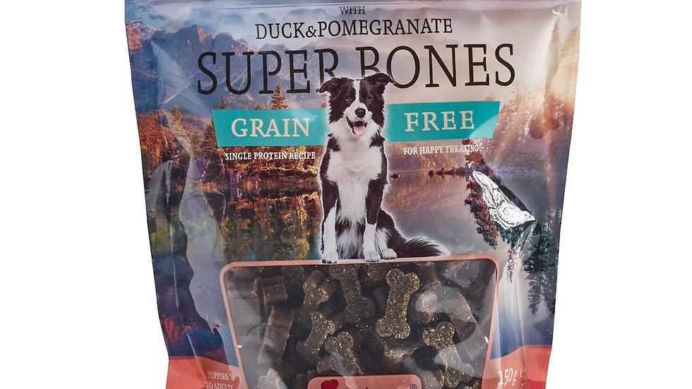 Super Bones duck and pomegranate 150g