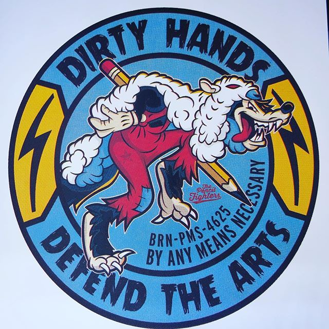 Hey troops! Our Dirty Hands Division limited Screenprint posters will be available this Sat