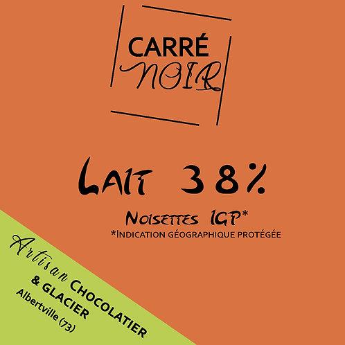 Noisettes - Lait 38%