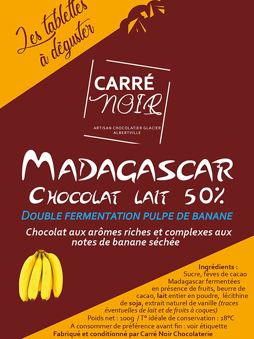 Madagascar - Lait 50%