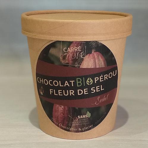 Chocolat bio Pérou et fleur de sel