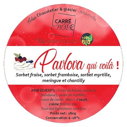 Pavlova fruits rouges bios