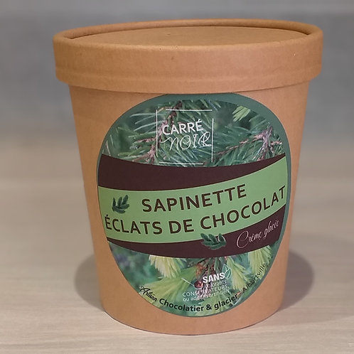 Sapinette éclats de chocolat