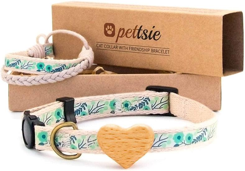 Collar premium para mascota con pulsera