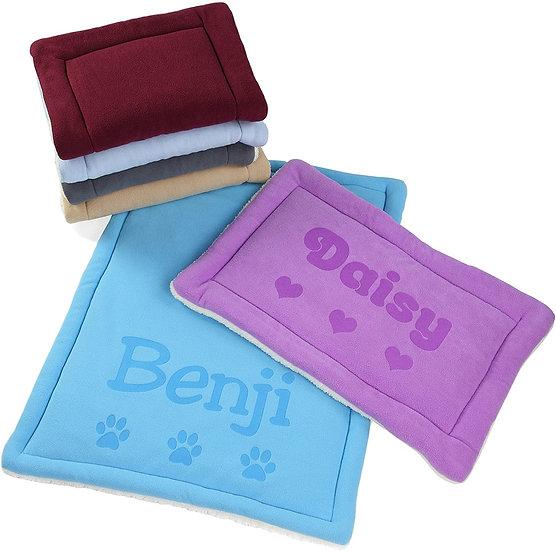 Alfombra personalizada para mascotas