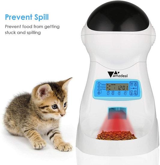 Comedero automático para gatos