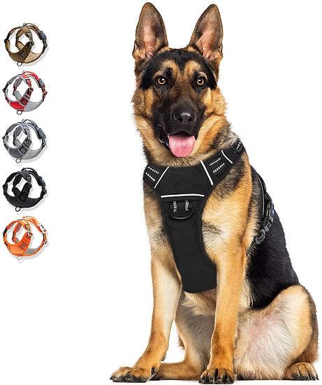 Arnés para perros con cintas reflectivas