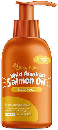 Snack aceite de salmón para mascotas