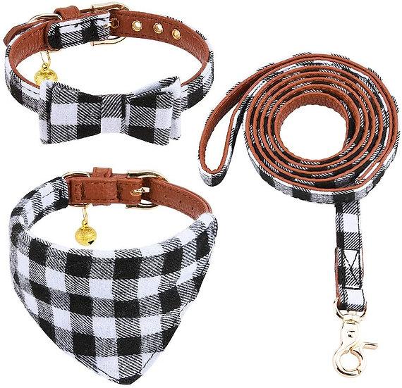 Juego Premium de collar y correa para perro