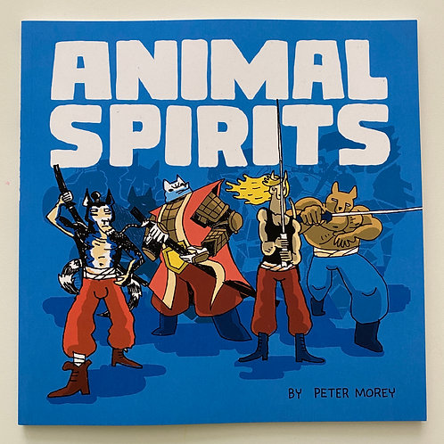 Animal Spirits comic book