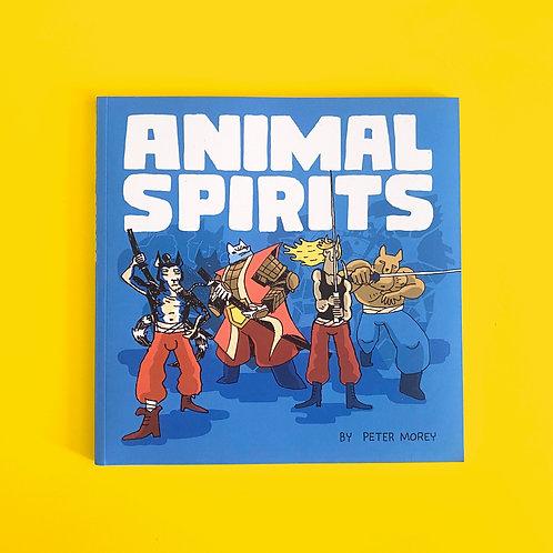 Animal Spirits comic book