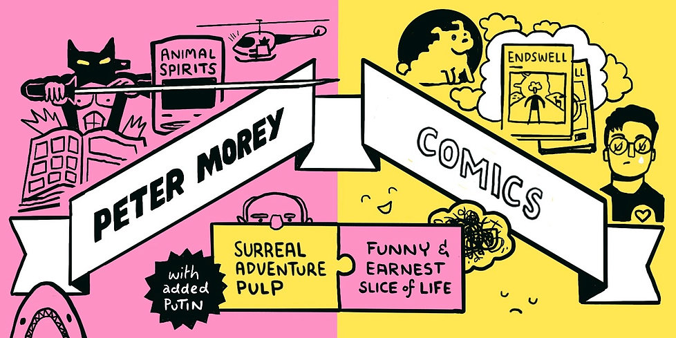 Peter Morey Comics