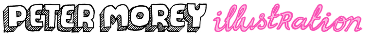 Peter Morey Illustration Live Illustation Graphic Recording Comics Small Press Zines