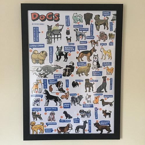 DOGS poster (A2 250gsm matt)