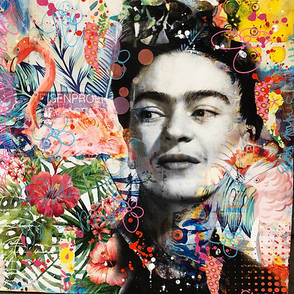TROPICAL FRIDA 50 X 50 CM