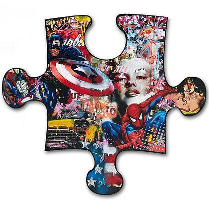 Comics Pop 90 X 80 CM