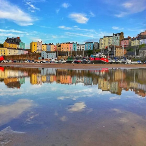 Tenby Reflections