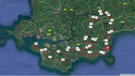 Iron Man Wales Bike Route