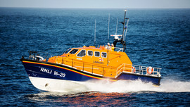 Tenby RNLI Tamar Lifeboat