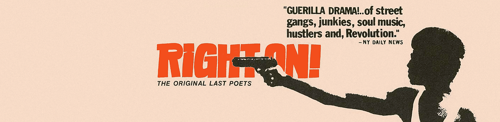 Right On! (1970) - COS Banner