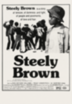 Steely Brown - Movie Poster