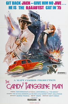 Candy Tangerine Man, The - Movie Poster.