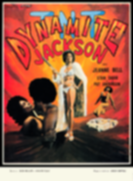 TNT Jackson French Affiche Movie Poster