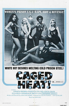 Caged Heat - Movie Poster