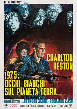 Omega Man, The - Italian Movie Poster.pn