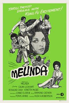 Melinda (1972) - Australian Movie Poster