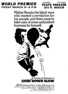 Goin' Down Slow (1971) - Movie Poster