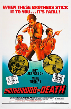 Brotherhood of Death Movie Poster (Resto