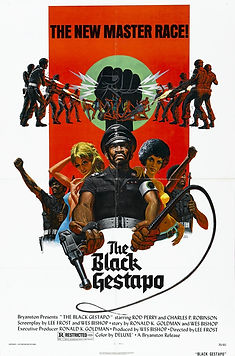 The Black Gestapo - Movie Poster
