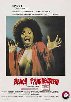 Blackenstein - Movie Poster