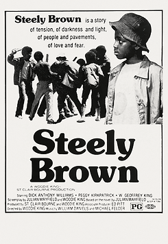 Steely Brown - Movie Poster (Restored) S