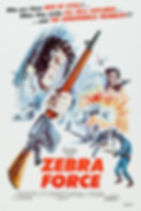 The Zebra Force - Movie Poster