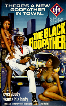 Black Godfather, The - German VHS