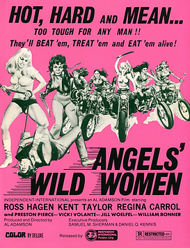Angels' Wild Women - Pressbook