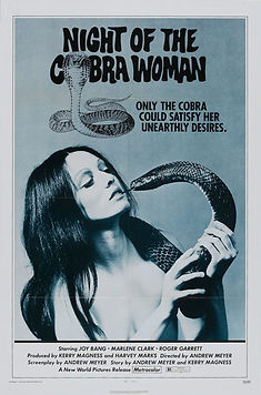 Night of the Cobra Woman - Movie Poster
