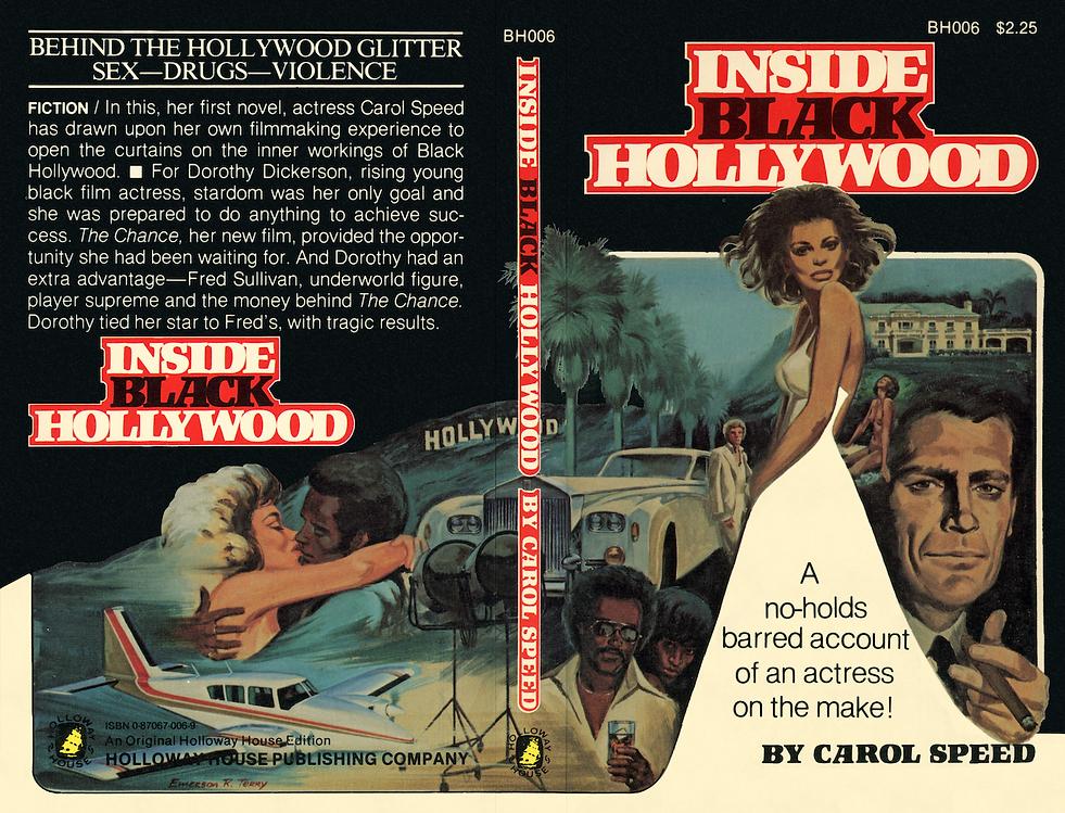 Inside Black Hollywood Paperback Jacket