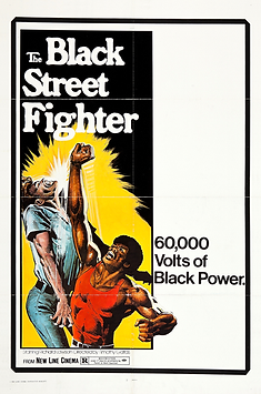 Black Street Fighter, The - Movie Poster